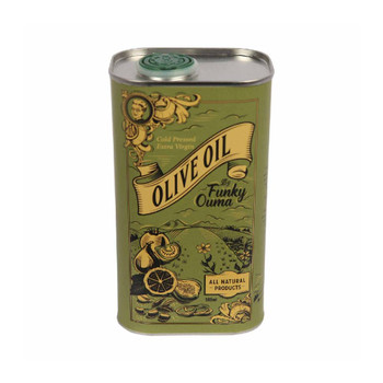 Tin Olive Oil 500ml