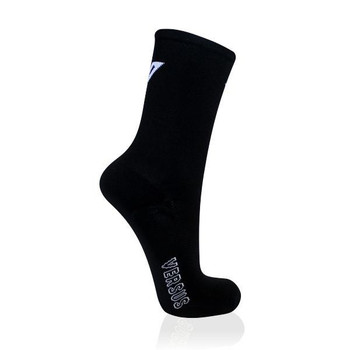 Black Cycling Thin Socks 8-12