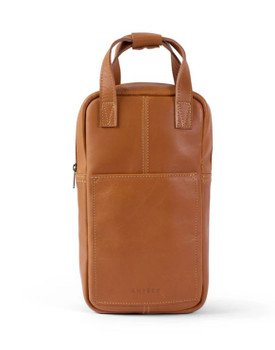 Hunter Leather Wine Carrier