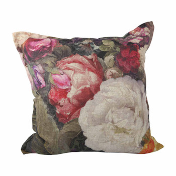 Scatter Cushion - Baroque Roses  (60x60cm)