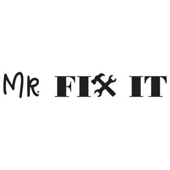 Engraved Wood-handle Hammer - Mr Fix it