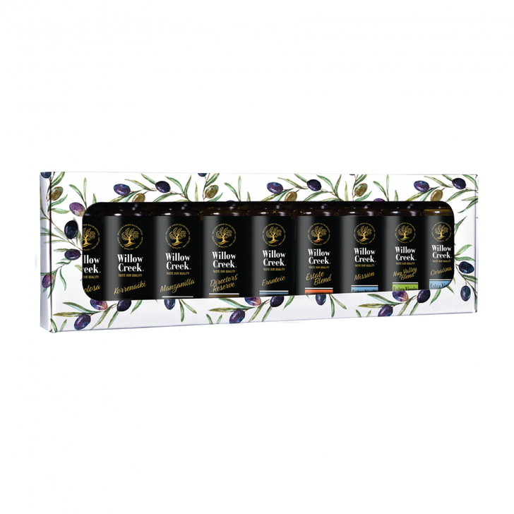 Gift Set 9 Pack Cultivar Specific Extra Virgin Olive Oil 30ml