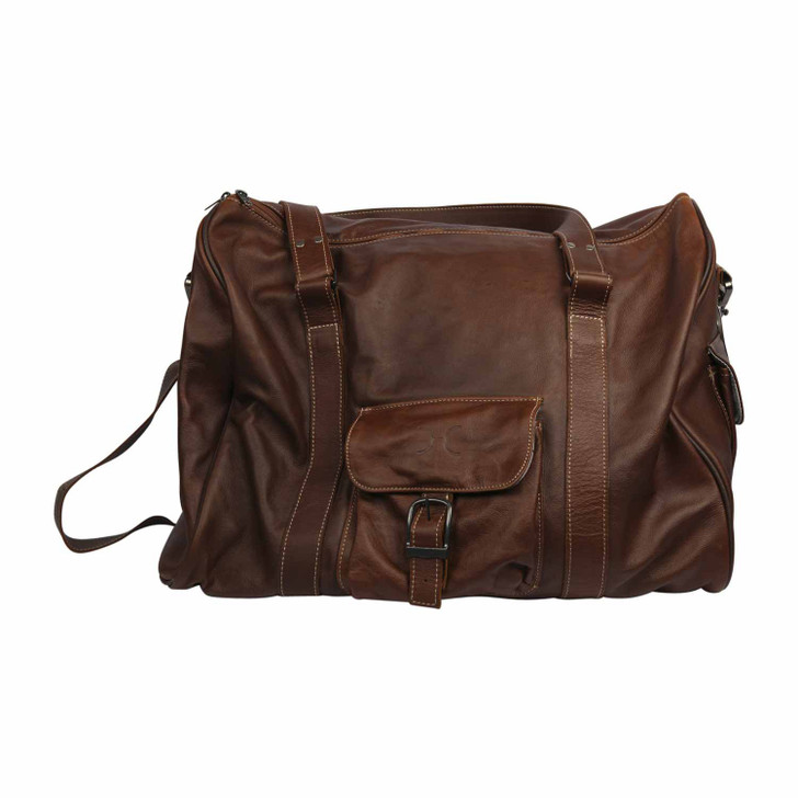 Mens Cabin Bag - Tobacco Leather