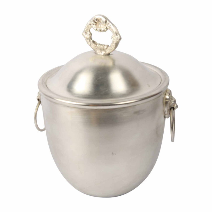 Ice Bucket Small Silver Plated with lid