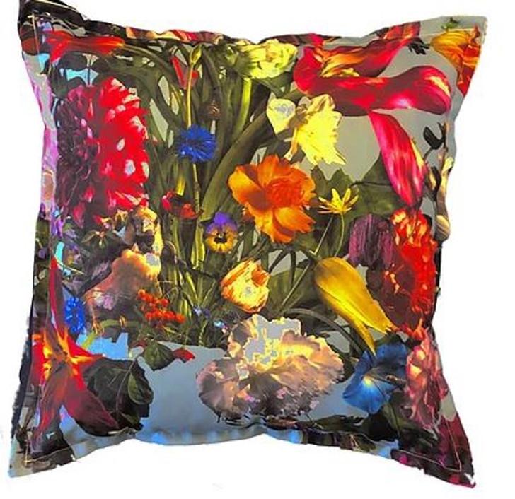 Baroque Aqua Scatter Cushion (60x60cm)