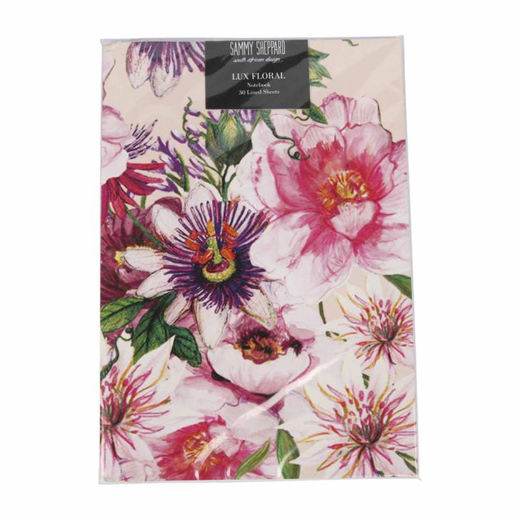 A5 Notebook Pink Posy