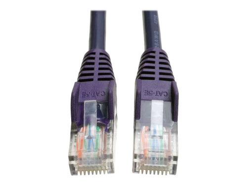BELKIN cat5e 10ft purple rj45m//m patch cable w//snagless boot