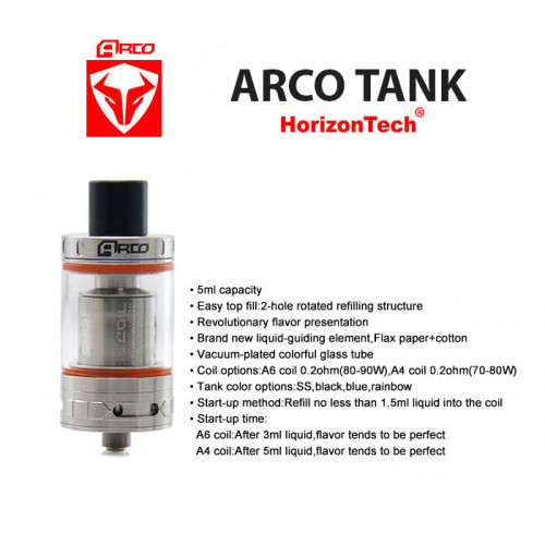 Arco Sub-Ohm Tank | Horizon Tech