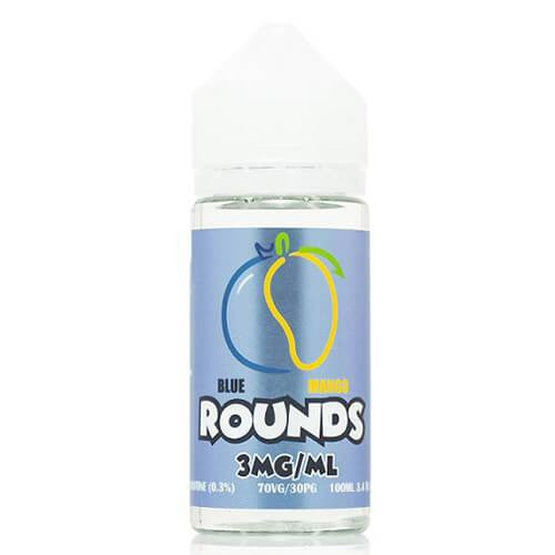 A delectable marriage of tart blueberry and sweet mango to bring you a satisfying vape.  70% VG