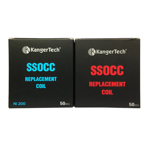 SSOCC COILS 10 PACKS OF 5 COILS. 50 TOTAL COILS $99.00 (CLAPTON COILS ADD $5.00) WITH FREE SHIPPING