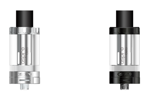 Cleito Tank | Aspire | Black , Stainless & Rose Gold options