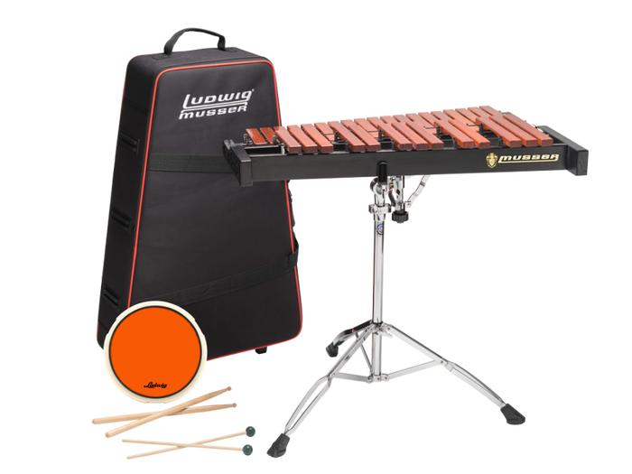Ludwig LMXYLO 2.5 Octave Xylophone Kit w/ Roller Case