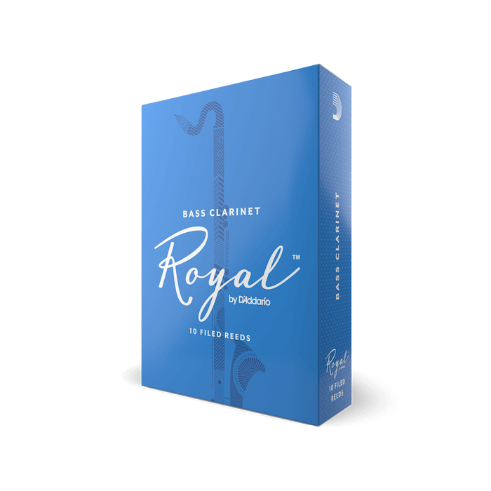 Royal by D'addario Bass Clarinet Reeds Box/10
