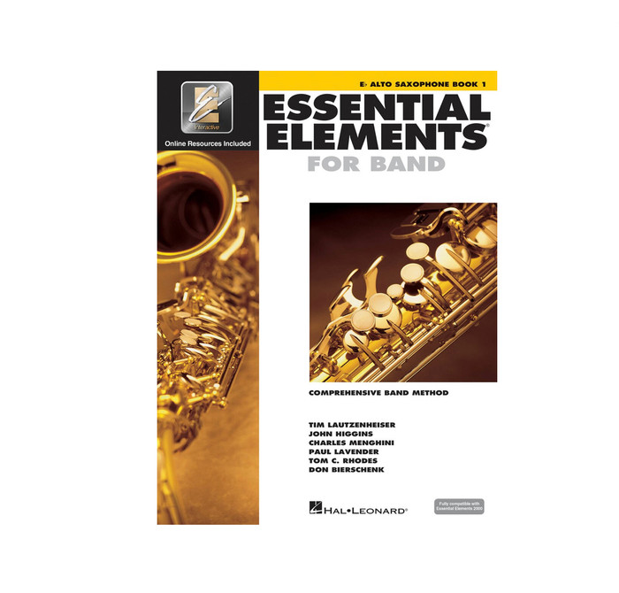 Essential Elements for Band BK1 - Alto Sax