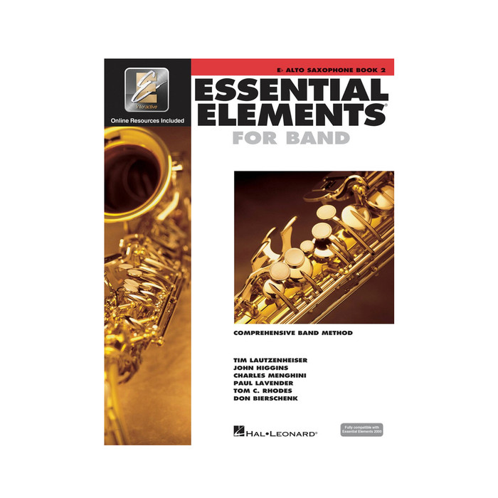 Essential Elements for Band BK2 - Alto Sax