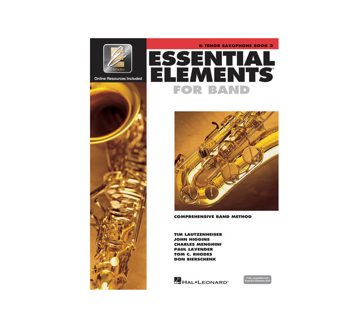 Essential Elements for Band BK2 - Tenor Sax