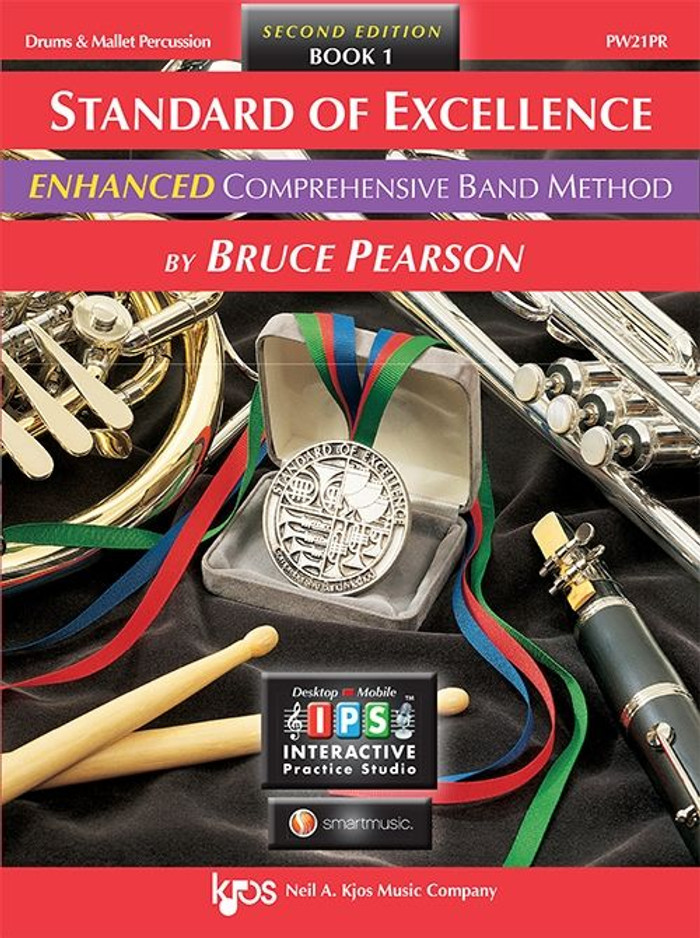 Standard of Excellence Book 1 Enhanced - Drums and Mallet Percussion