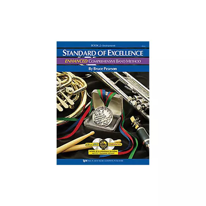 Standard of Excellence Book 2 Enhanced - Percussion