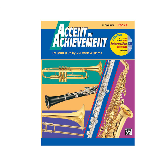 Accent on Achievement Book 1 - Clarinet