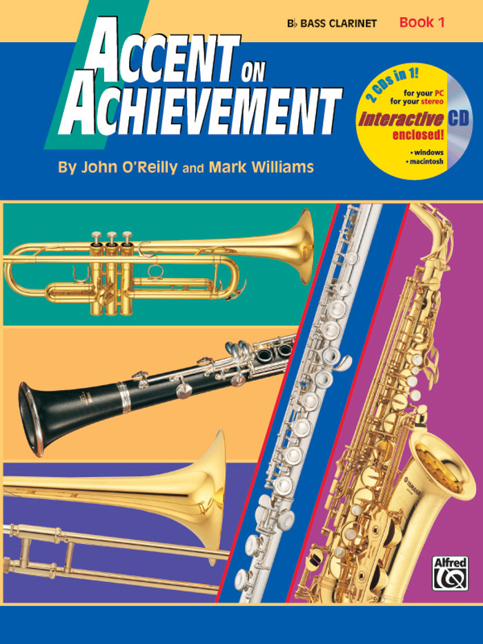 Accent on Achievement Book 1 - Bass Clarinet
