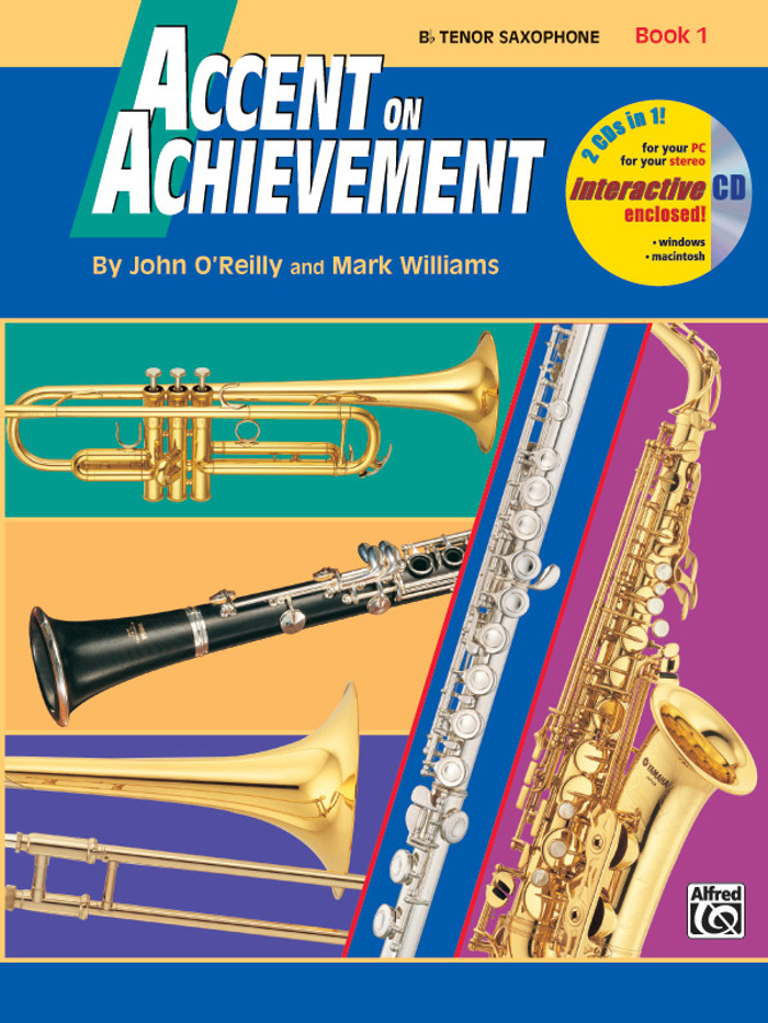 Accent on Achievement Book 1 - Tenor Saxophone