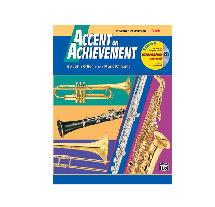 Accent on Achievement Book 1 - Combo Percussion