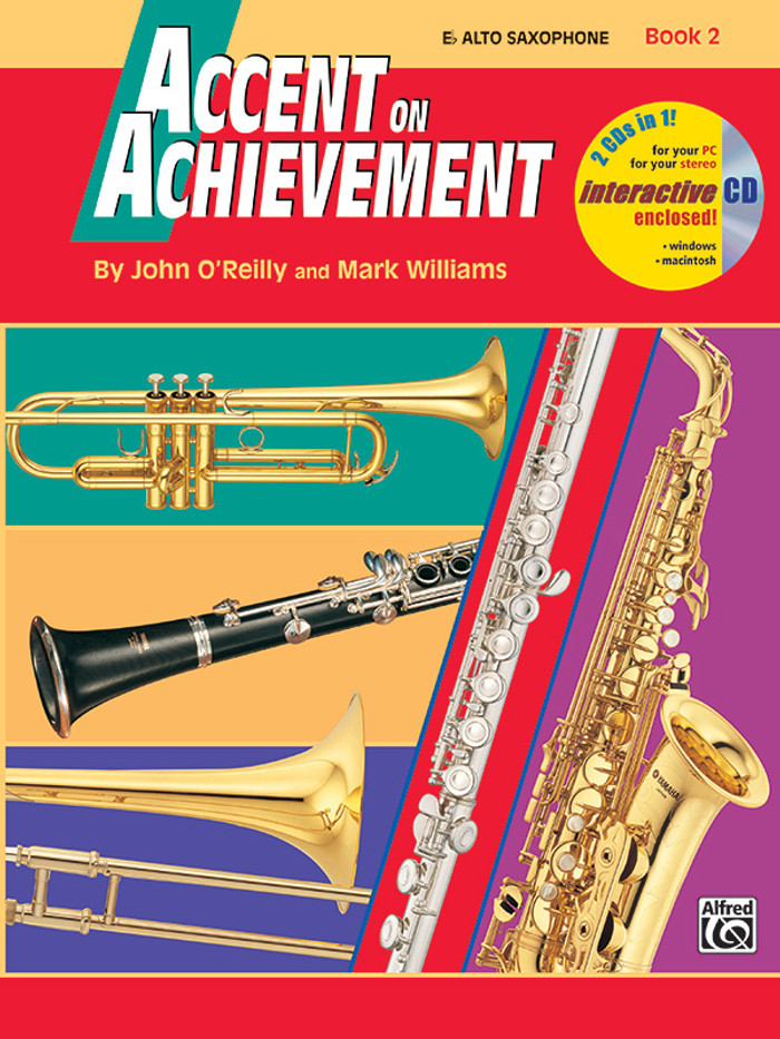 Accent on Achievement Book 2 - Alto Saxophone