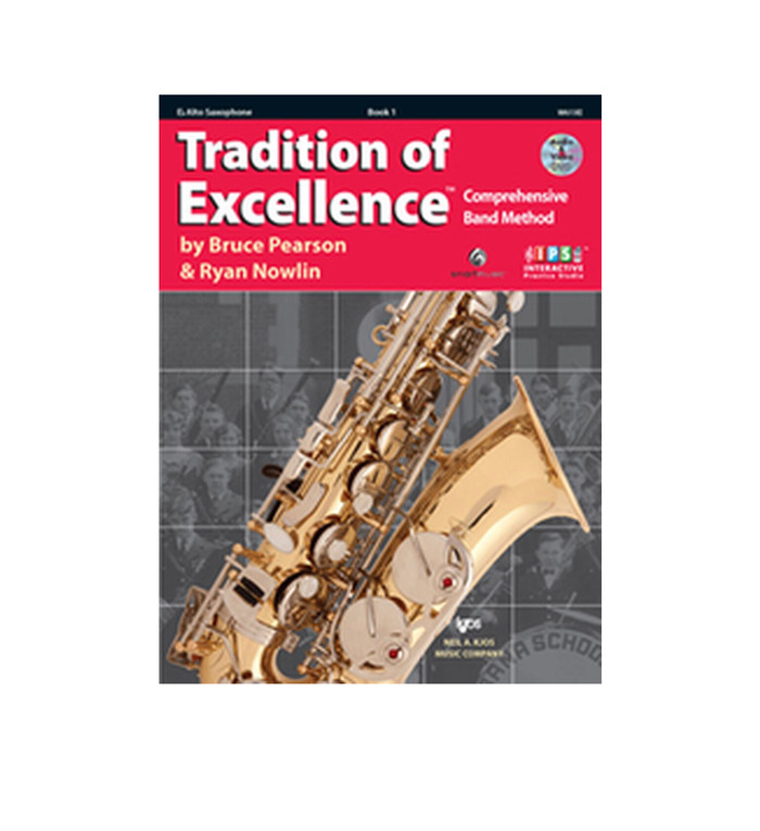 Tradition of Excellence Book 1 - Alto Sax