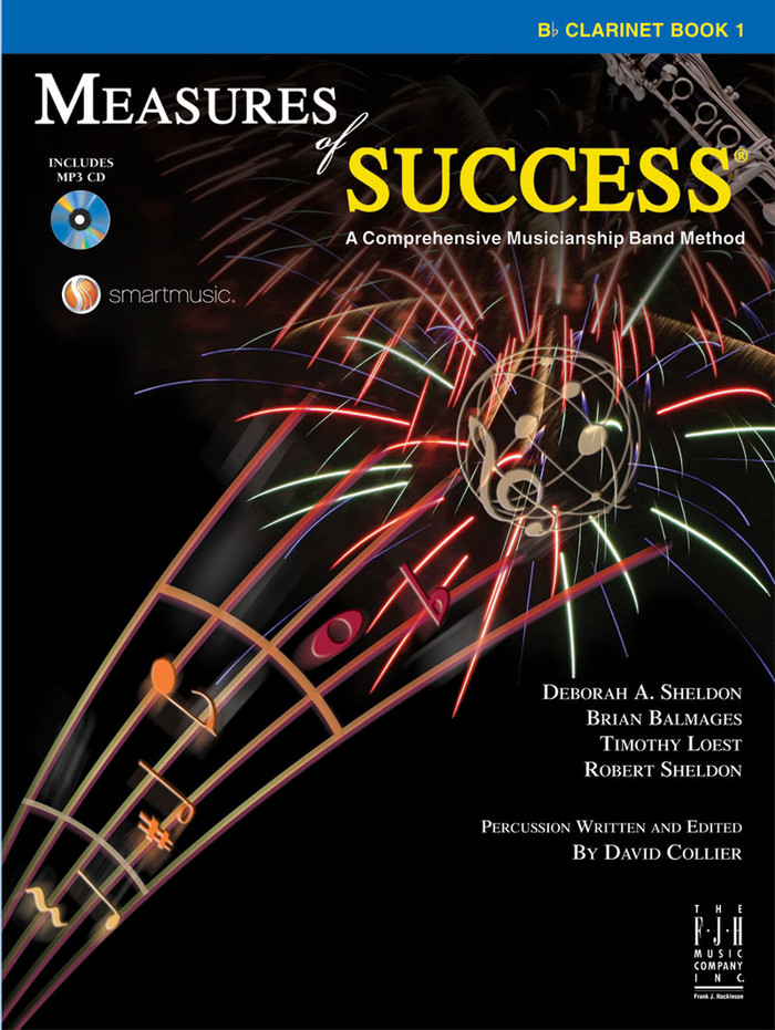 Measures of Success Book 1 - Clarinet