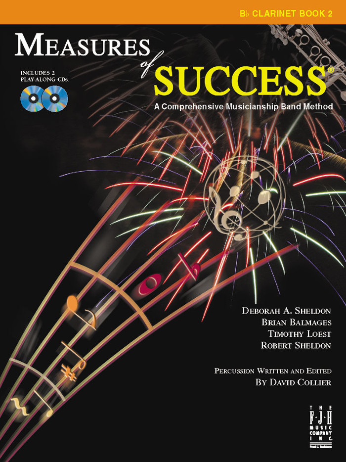 Measures of Success Book 2 - Clarinet