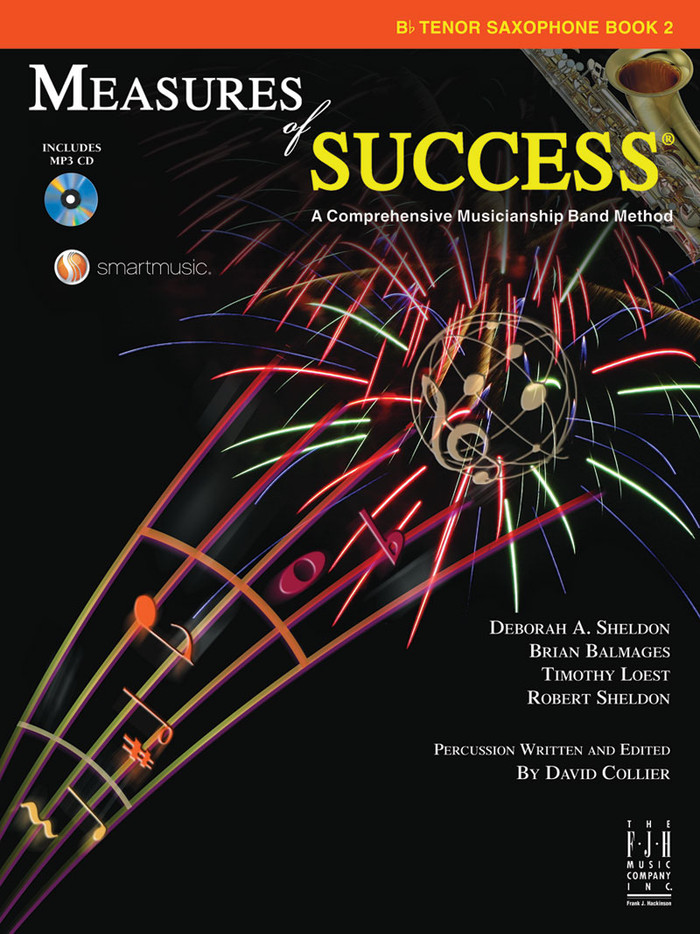 Measures of Success Book 2 - Tenor Saxophone
