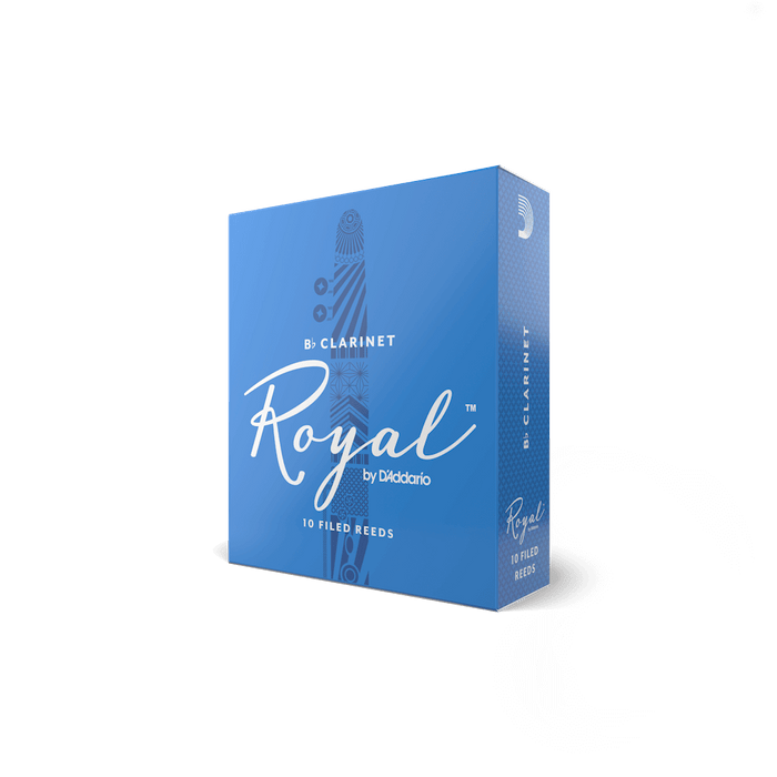 Royal by D'addario Bb Clarinet Reeds Box/10