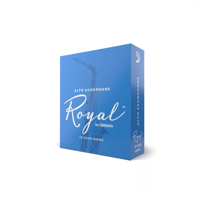 Royal by D'addario Alto Saxophone Reeds Box/10