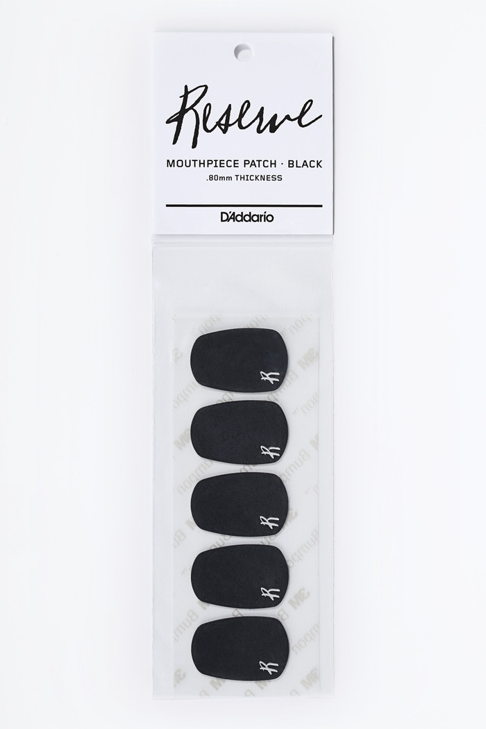D'Addario Reserve Mouthpiece Patch Black .80MM Thick