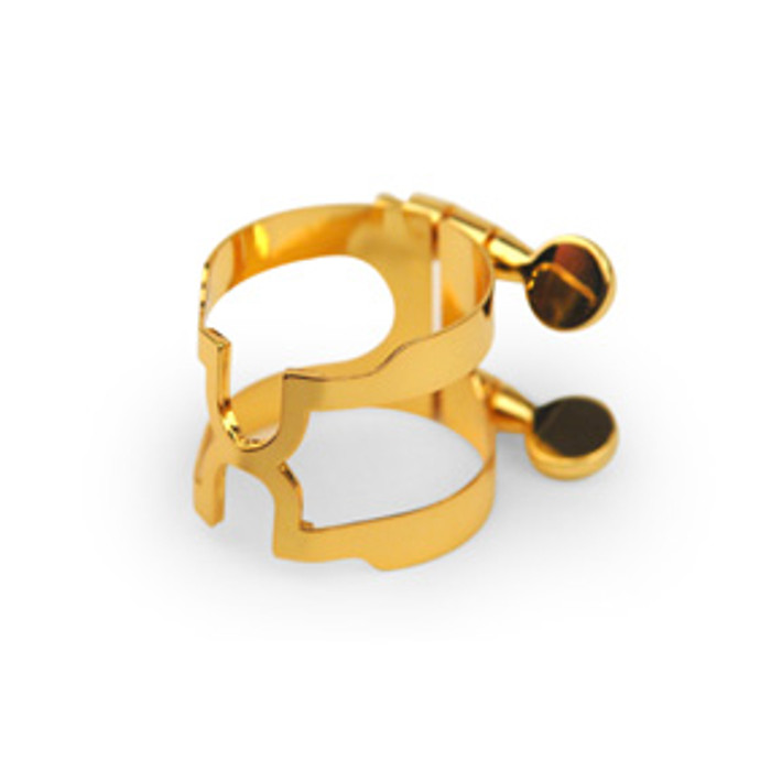Rico H-Ligature and Cap for Bb Clarinet Gold