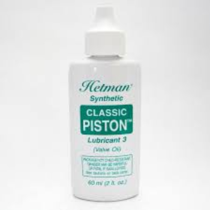 Hetman Synthetic Classic Piston #3 Valve Oil