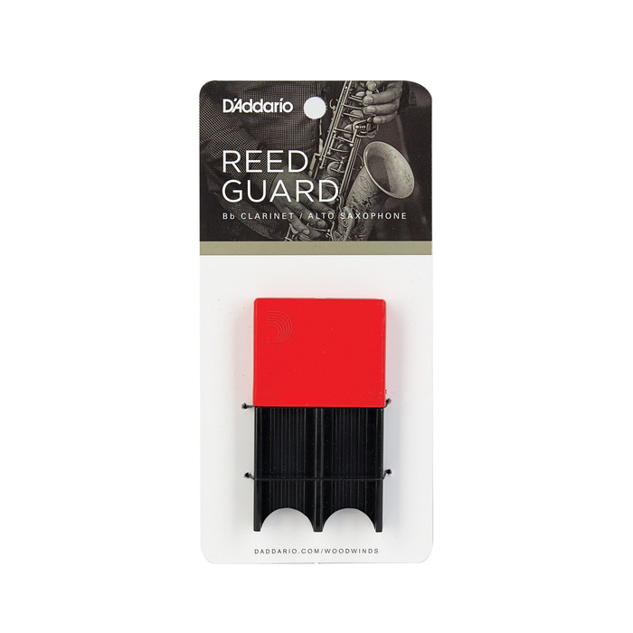 D'addario Woodwinds Reedguard Red