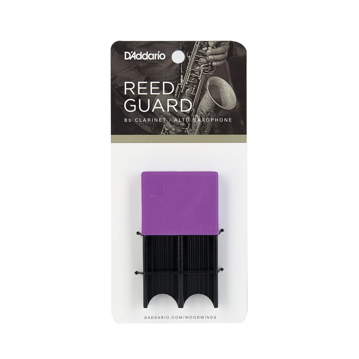 D'addario Woodwinds Reedguard Purple