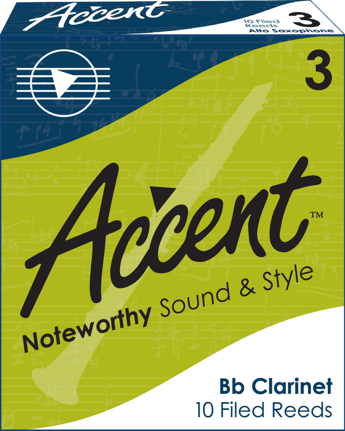 Accent Filed Clarinet Reeds Box/10