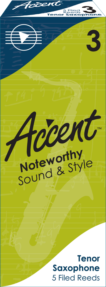 Accent Filed Tenor Saxophone Reeds Box/5