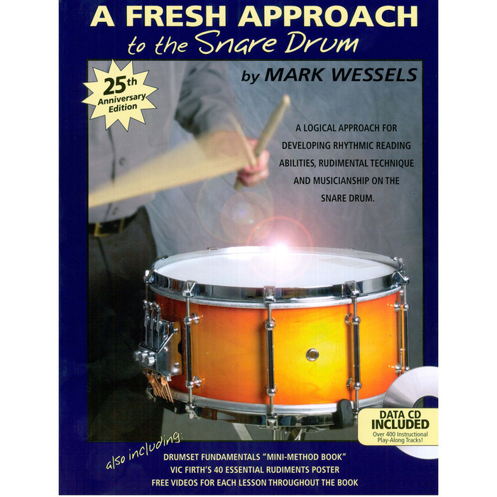 A Fresh Approach to Snare Drum; Mark Wessels
