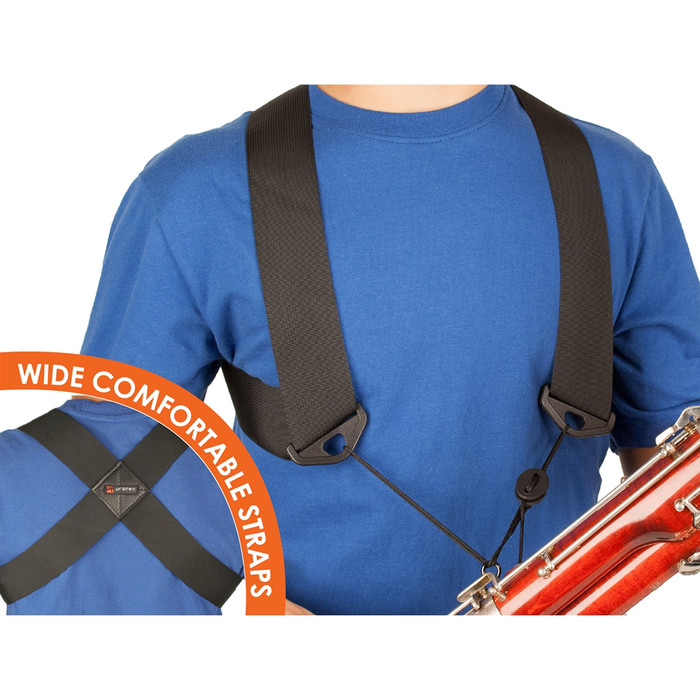 Protec Bassoon Nylon Harness (Large, Unisex) A301LRG