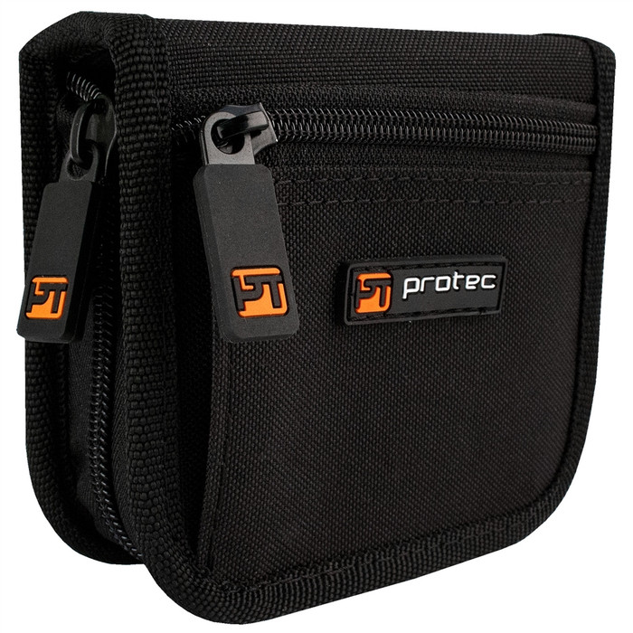 Protec Tuba Mouthpiece Pouch – 3 Piece (Nylon) with Zipper Closure A212ZIP