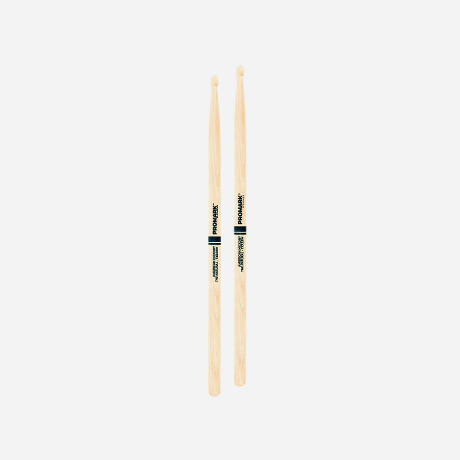 Promark Classic 2B Natural Hickory Wood Tip Drumstick