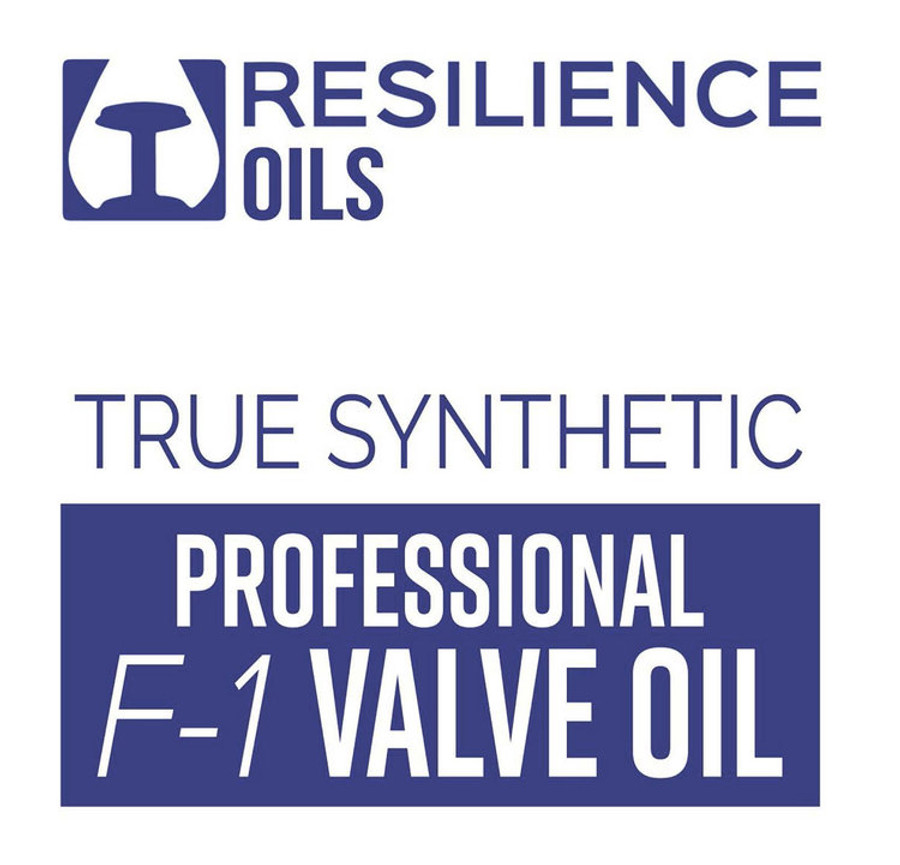 Resilience Oils True Synthetic Professional F-1 Valve Oil