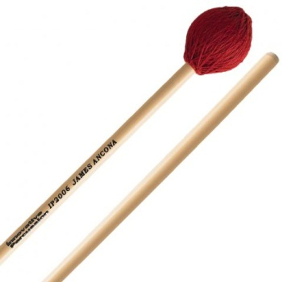 Innovative Percussion IP2006 James Ancona Signature Medium-Hard Vibraphone/Marimba Mallets Mallet