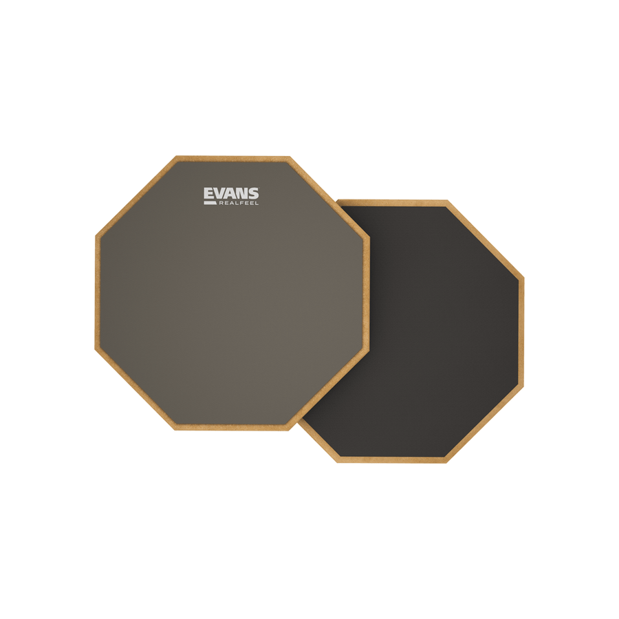 """Evans RealFeel 6"""" Double-Sided Practice Pad"""