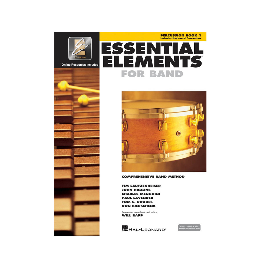 Essential Elements for Band BK1 - Percussion