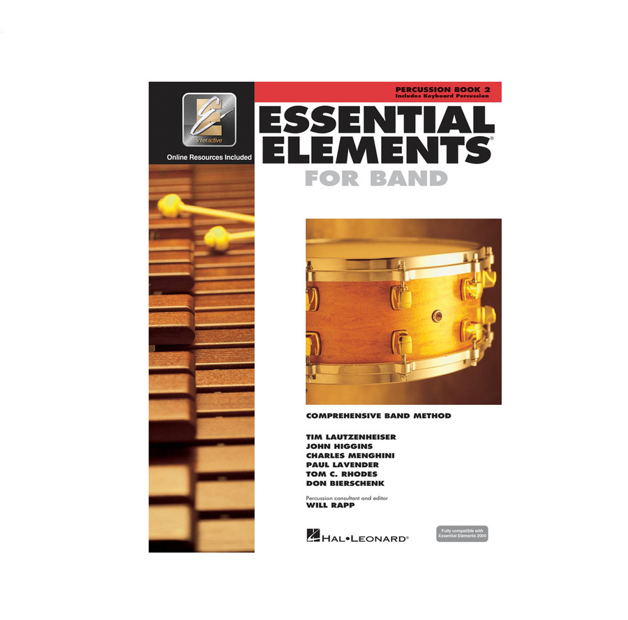 Essential Elements for Band BK2 - Percussion