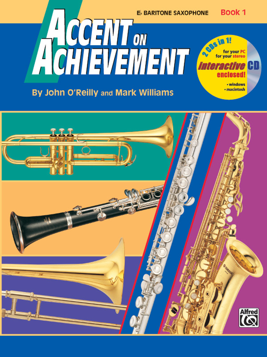 Accent on Achievement Book 1 - Baritone Saxophone